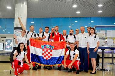 Athletes fly into Minsk for 2nd European games